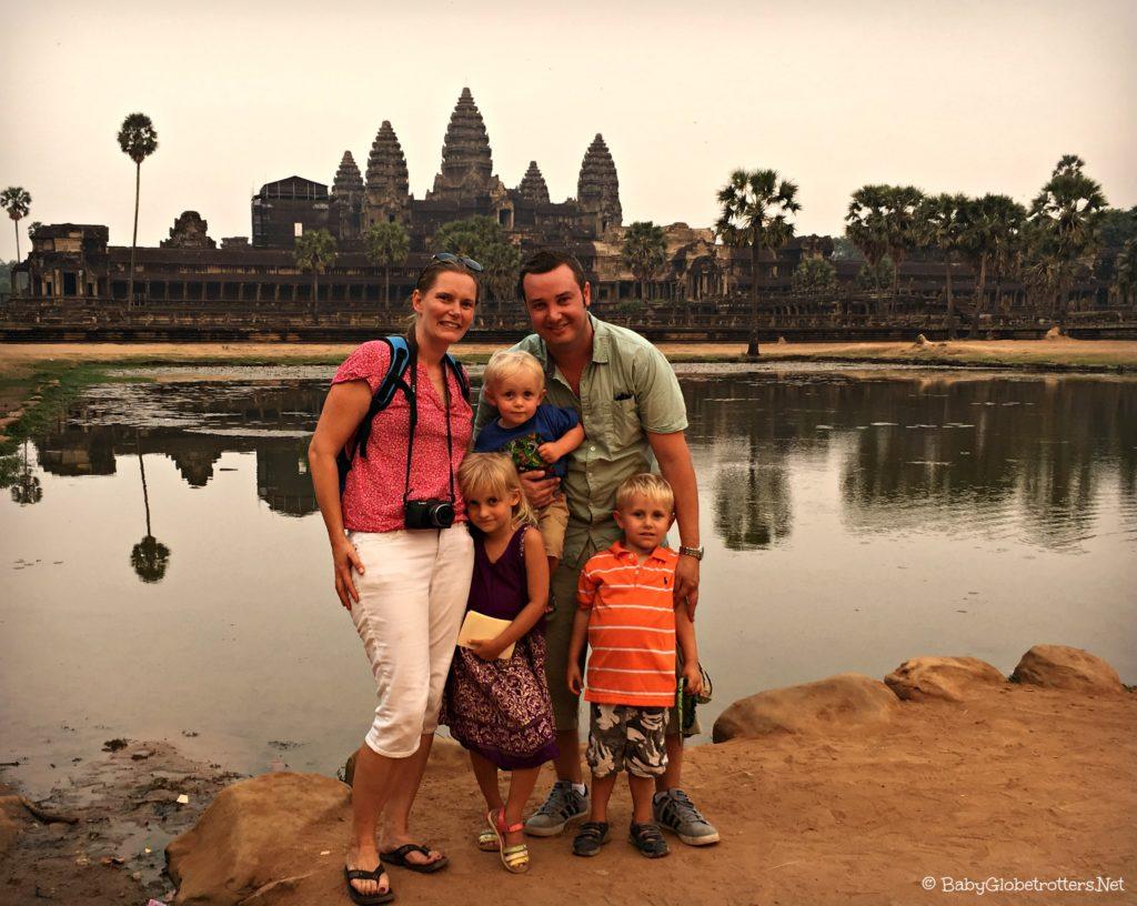 The Hedrick family enjoying family travel   keri-consulting.com